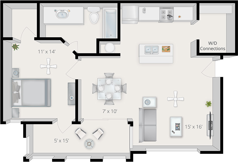 Gainesville apartments reserve at kanapaha gallery - 3 bedroom apartments in gainesville fl ...